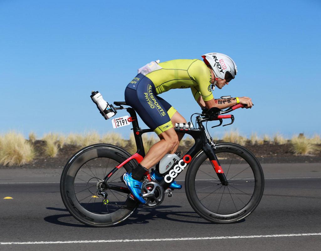 Triathlete Jarrod Harvey